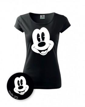 Kokardy.cz Tričko Mickey Mouse 272 černé - S dámské 4095e818bb1